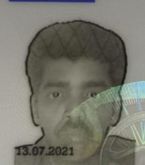 Image of man sought - mandate fraud