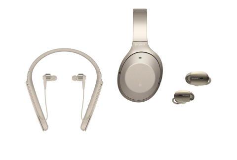 Trådløs støyreduksjon med Sonys nye 1000X-familie