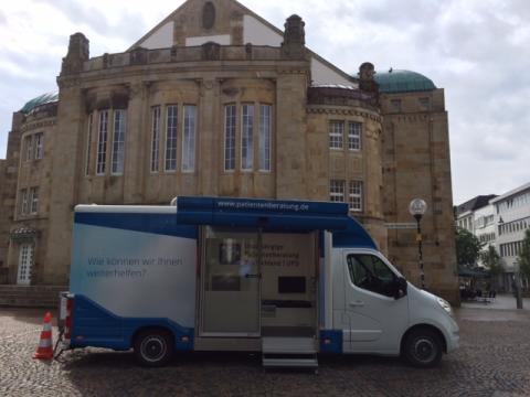 Beratungsmobil der Unabhängigen Patientenberatung kommt am 27. September nach Osnabrück.