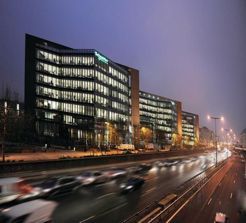 Le Hive_Schneider Electrics hovedkontor i Paris