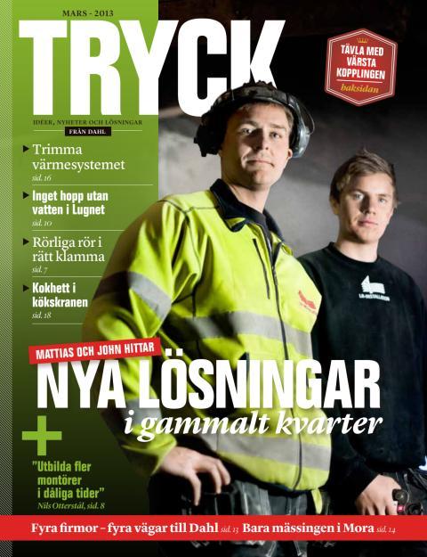 TRYCK, en kundtidning från Dahl Sverige AB