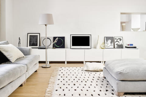 Sony 2000s living room landscape