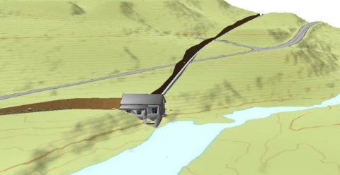 Klart for utbygging av Hinøgla kraftverk