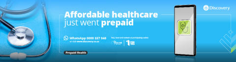 Discovery's new prepaid offer gives anyone in South Africa easy access to affordable, quality, healthcare