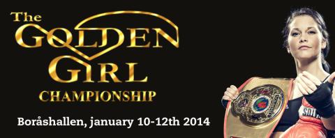 Stark uppställning inför Golden Girl Championship 2014, 10-12 januari Boråshallen