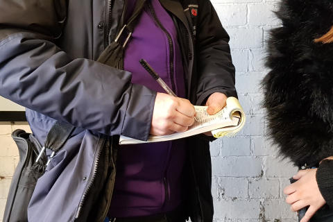 Over £1m recovered from ticketless rail travellers in the past year