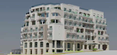 Illustration of the new Maritim Hotel Malta