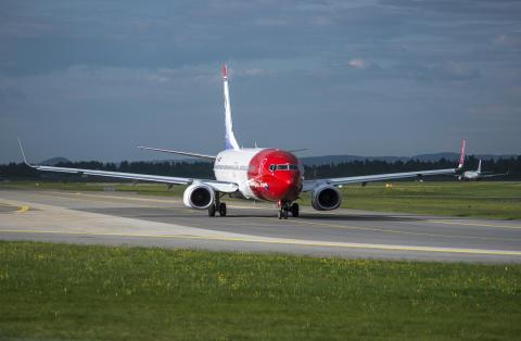 Stærk trafikvækst og god belægning for Norwegian i juni