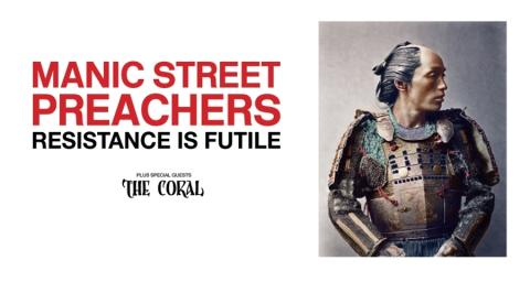 Manic Street Preachers at Metro Radio Arena – 23 April