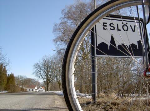 Fler cykelvägar i Eslövs kommun tack vare e-förslag från medborgare