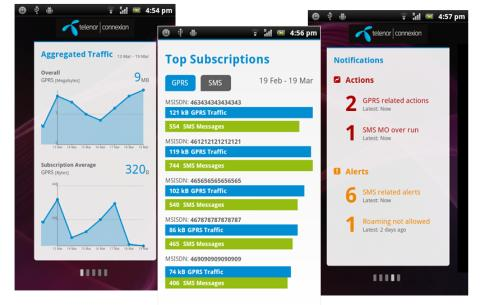 Telenor Connexion provides customers with the first mobile app for instant management of connected devices
