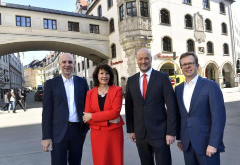 Gesamtvorstand der Stadtsparkasse München zur Bilanz-Pressekonferenz am 27.02.2019