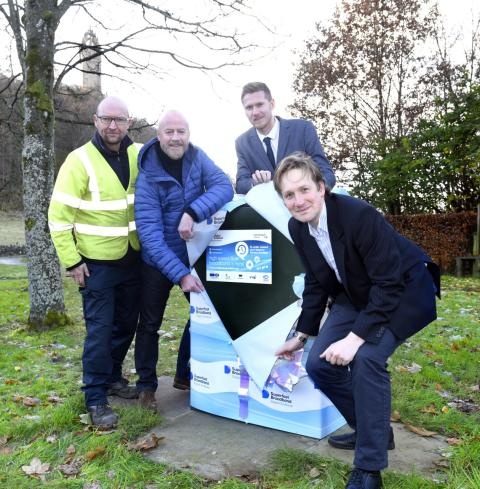 Fibre boost for Stirling thanks to Digital Scotland Superfast Broadband