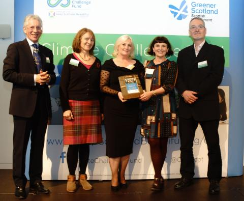 ng homes recognised at first ever Climate Challenge Fund Awards