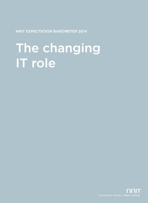 NNIT Expectation Barometer - The Changing IT-role