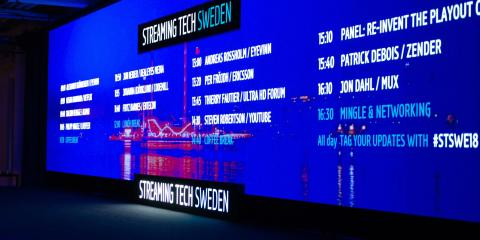 All presentations from Streaming Tech Sweden 2018 now available