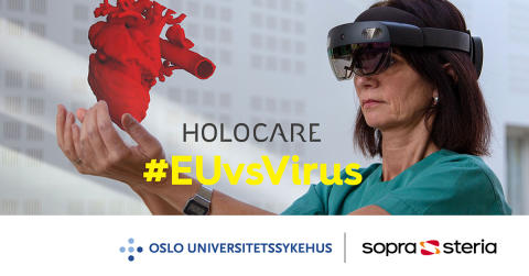 Norsk team til topps i europeisk hackathon