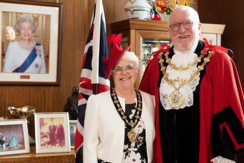 ​East ward councillor Trevor Holt is new Mayor of Bury