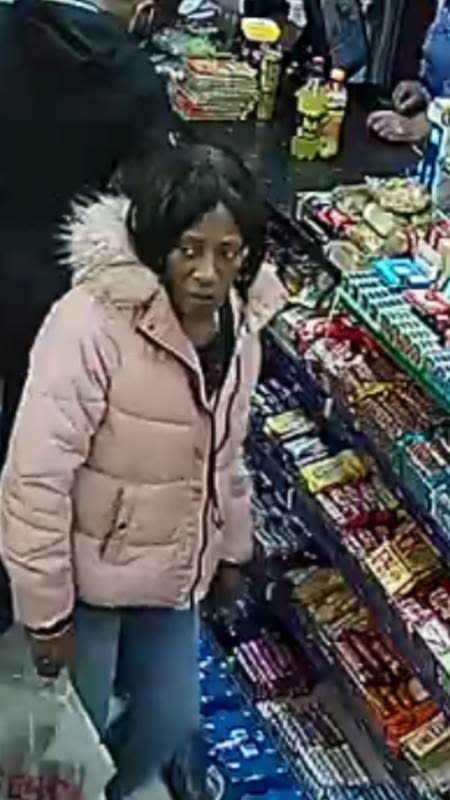 Image of woman released after elderly woman robbed in Lewisham