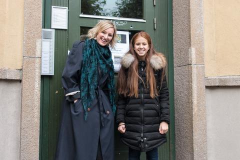 Khawla og Inga Marte Thorkildsen