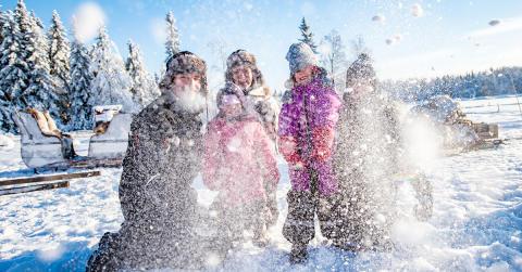 10 tips til en opplevelsesrik vinterferie i Trysil