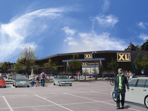 XL-BYGG gör större etablering i Västerås 8:e mars 2016