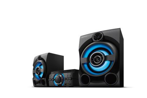 Nowe zestawy muzyczne Sony o dużej mocy: zawsze udana zabawa