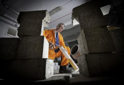 Extra dimension creates stronger, safer concrete