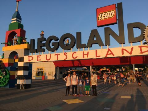 Auf geht's ins Legoland!