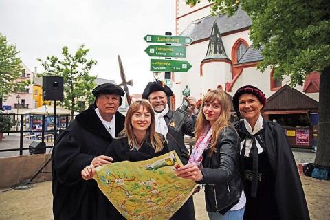 Lutherweg in Sachsen wurde in Döbeln eröffnet
