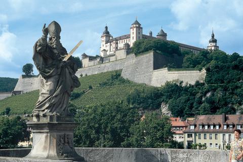 Famous Marienberg Fortress