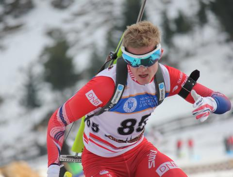 Sindre Pettersen Normalprogram menn junior-vm 2016