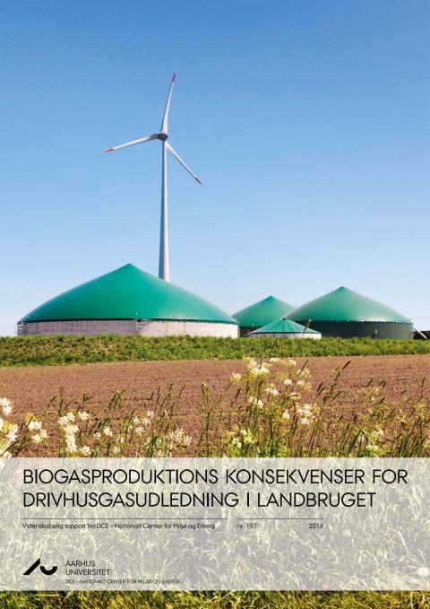 Biogasproduktions konsekvenser for drishusgasudledning i landbruget