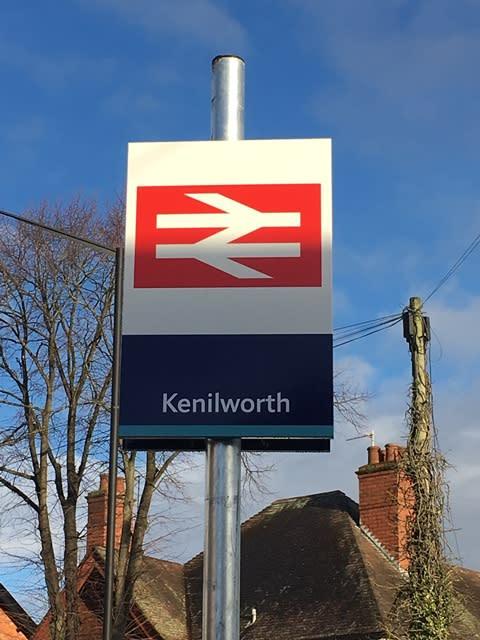 Kenilworth entrance sign