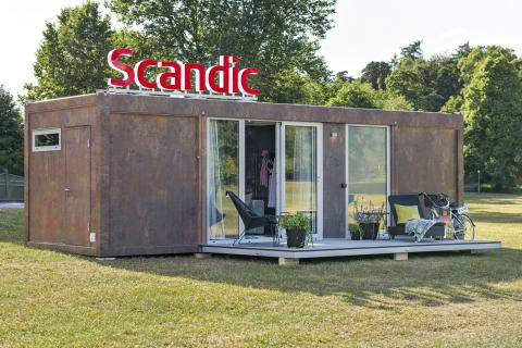 Scandic's mobile hotel room wins bronze at Cannes Lions 2015