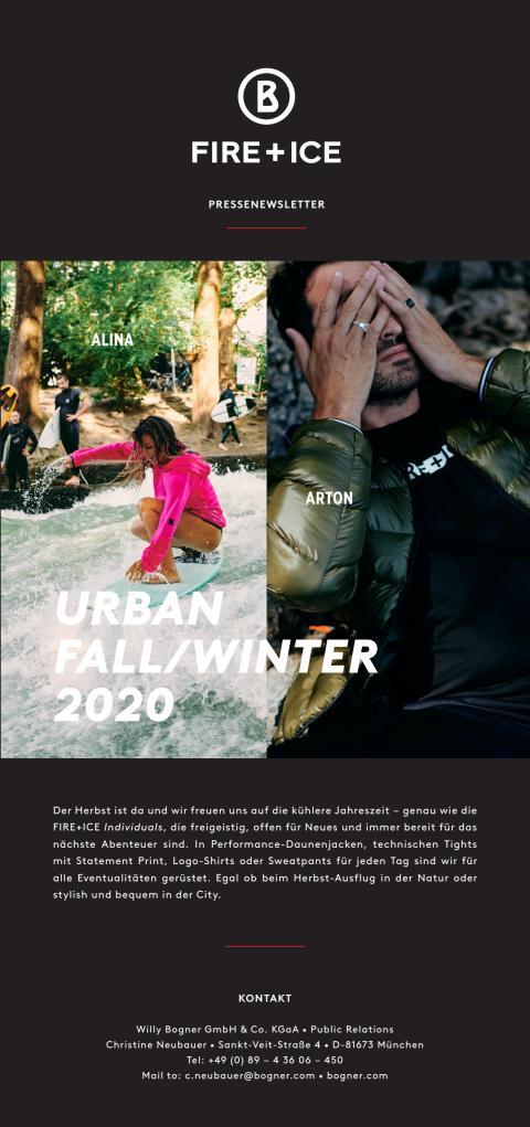 BOGNER FIRE+ICE Urban Fall/Winter 2020