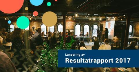 Ferd Sosiale Entreprenører inviterer til lansering av Resultatrapport 2017 på Røverstaden 24. mai.