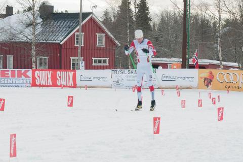 Stian Remseth Andresen vant Trysil Skimaraton 2015