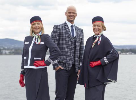 Norwegians nya uniformer för långdistans är klara