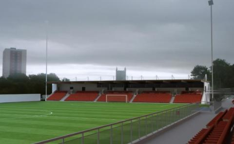 Larne FC nets planning permission for new stand at Inver Park