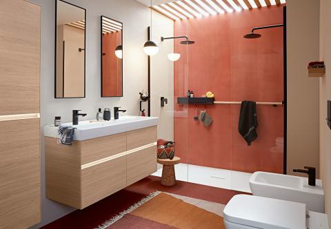 Villeroy & Boch ist Feuer und Flamme:   Einrichtung mit erdigen Trendfarben wie Terracotta, Henna und verbranntem Orange
