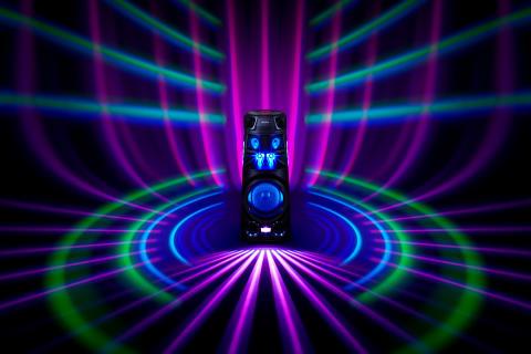 Sony lanserar nya högtalare i High-Power Audio-serien