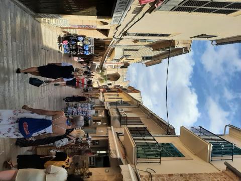 011 Shopping in der  Altstadt Alcudias
