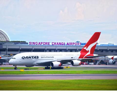 Changi Airport welcomes Qantas'  2018 Northern Summer Season additions