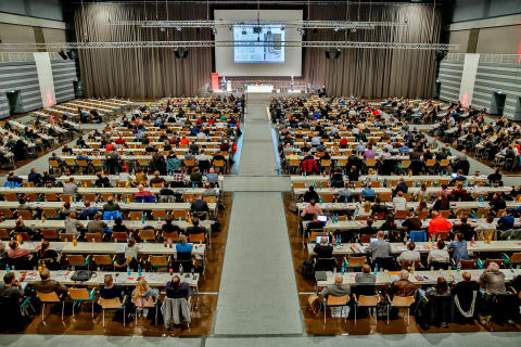"""FeuerTrutz Brandschutzkongress 2019  zum Thema """"Schutzziel Brandschutz: Konzepte und Lösungen für Standard- und Sonderbauten"""" am 20. und 21. Februar 2019 im NürnbergConvention Center"""