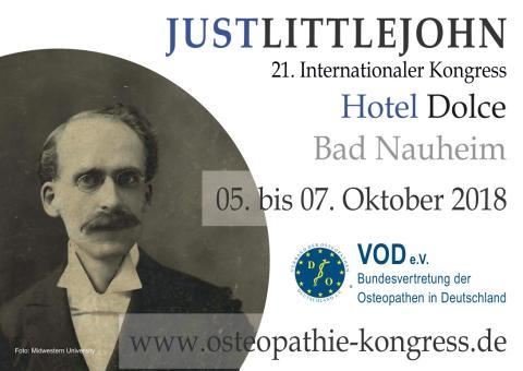 Spannender Kongress: Osteopathie und Wissenschaft / 21. Internationaler Osteopathie-Kongress des VOD vom 5.-7. Oktober 2018 in Bad Nauheim