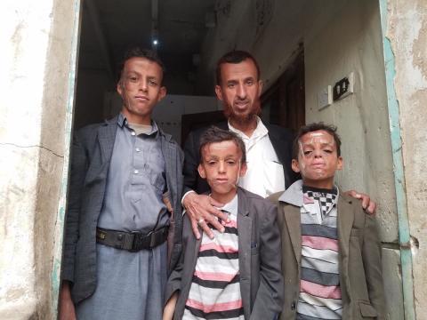 Omar*, 12 år i Jemen