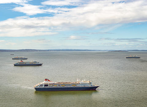 Fred. Olsen Cruise Lines to support Royal Navy's 'Shine A Light' campaign to mark VE Day in Firth of Forth