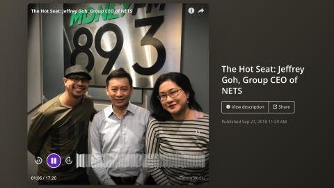 Jeffrey Goh: Keeps his cool despite being in 'The Hot Seat'