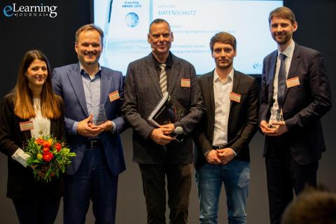 FPZ gewinnt eLearning Award 2019 - Gemeinsamer Erfolg mit Projektpartner BPS in der Kategorie Datenschutz